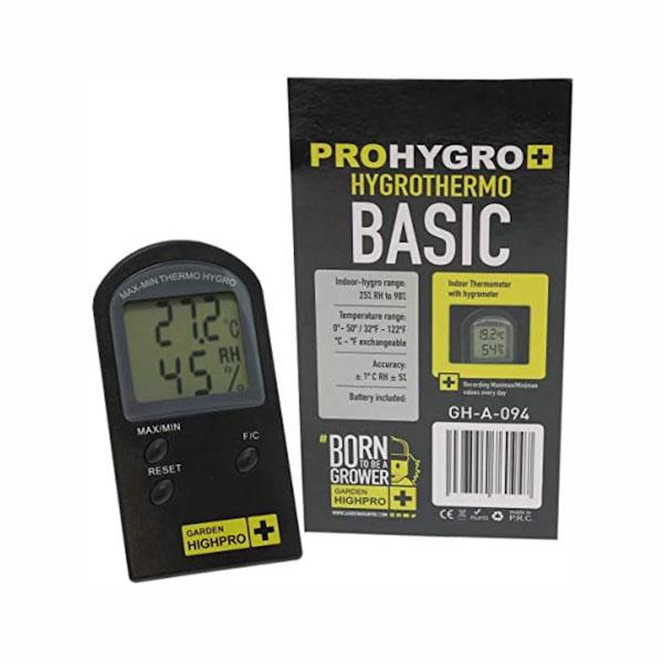PROHYGRO HYGROTHERMO BASIC