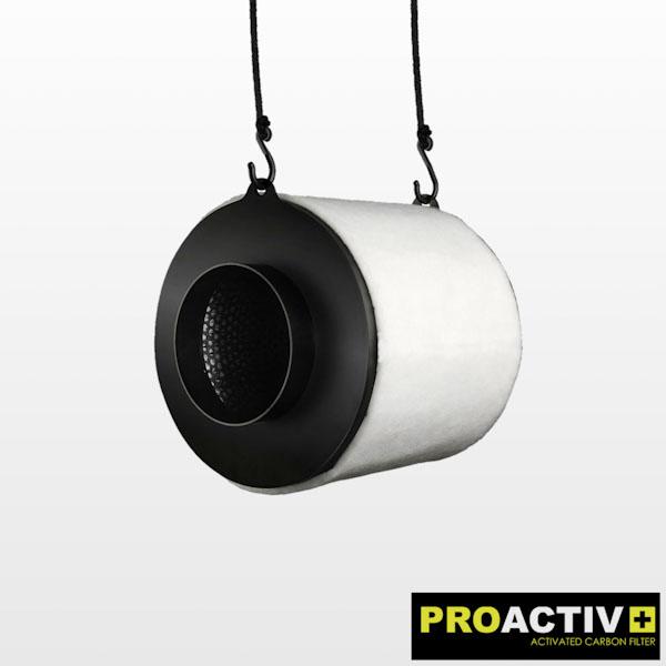PROACTIV Carbon Air Filter 460 M³/H Ø125×300